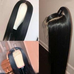 Image 4 - ספיר 13*4 תחרה פרונטאלית שיער טבעי פאות ברזילאי ישר תחרה פרונטאלית פאה מראש קטף תינוק שיער קצר שיער טבעי תחרה פאות