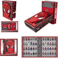 Marvel Avenger Spiderman Collections Book Building Blocks Education Toys SY1461 Compatible With Lepins  Gifts for Children original ijoy avenger 270 234w tc kit with avenger tank voice control mod with 20700 battery 6000mah vape e cigarette avenger