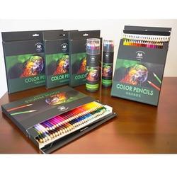 72 kolorowe kolor oleju ołówki do rysowania przybory do szkicowania Profissional kolorowe kredki De kor malowanie artystyczne