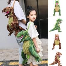 2020 Kids Bag Parent-child Dinosaur Bag New Children Backpack Cartoon Big Dinosaur Backpaack Mochila Infantil