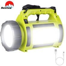 8000lm 100w Портативный светодиодный походный светильник рабочий