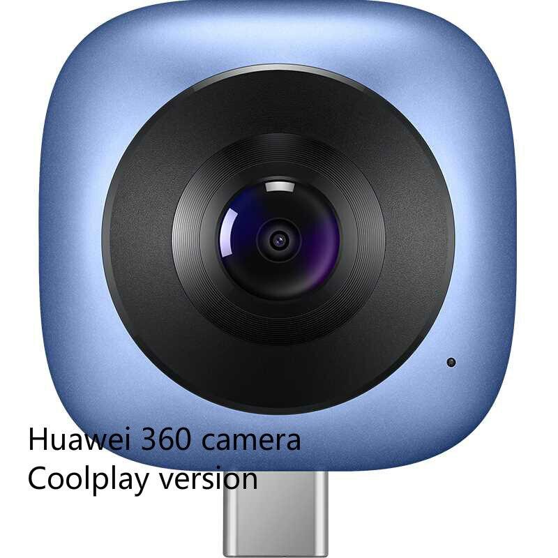 Original huawei envizion 360 câmera panorâmica versão coolplay cv60 graus lente da câmera de vídeo hd câmera 3d ao vivo versão coolplay