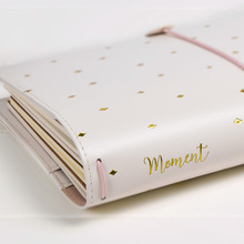 цена на Lovely Diary Gift to Girlfrend, TN Standard Journal Travler Notebook, Spiral PU Thick Pocket Size Planner Diary