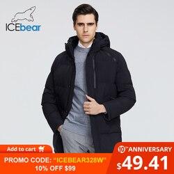 ICEbear 2019 Nuovo Cappotto di Inverno di Alta Qualità del Rivestimento degli uomini di Marca di Abbigliamento MWD19922I