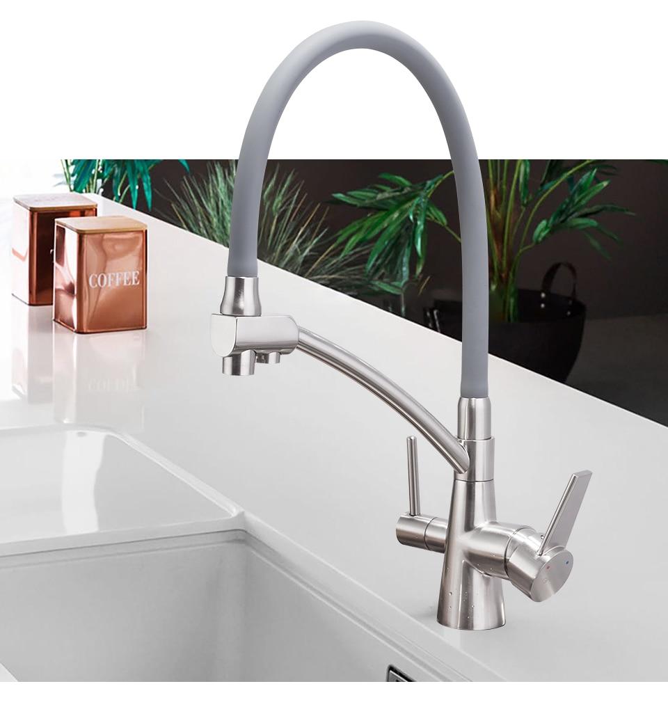 H6b92dfa98fa3420aa42d6f3665f8082cH GAPPO water filter taps kitchen faucet mixer kitchen taps mixer sink faucets water purifier tap kitchen mixer filter tap