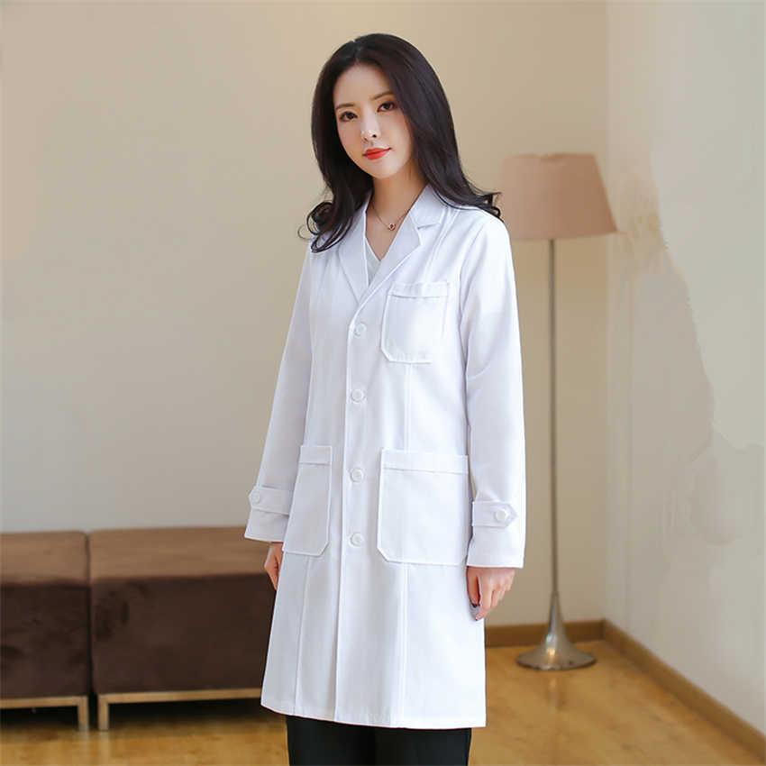 סקראבס רפואי מדים נשים חלוק בית החולים לבן מעיל אחות בגדי ניתוח סיעוד בית למבוגרים עבודה ללבוש בגדים