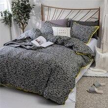 Silk Man Textile Cross-border Home Textile Three Kits for Amazon Explosive Pure Cotton Printing Bedding Kits