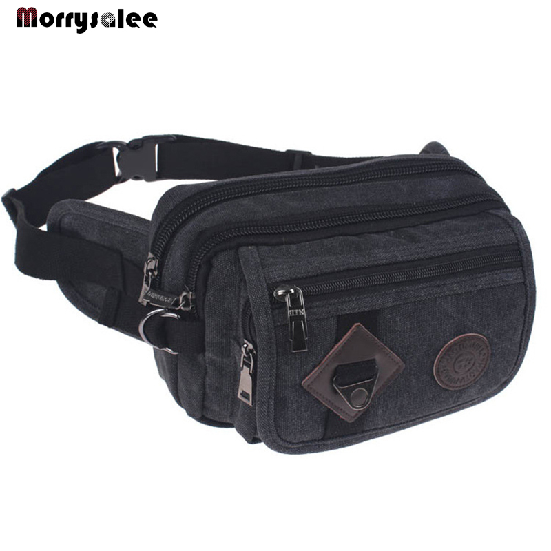 Riding Pockets Canvas Messenger Bag Across A Small Personal Security Men Running Outdoor Sports Bag New Fashion