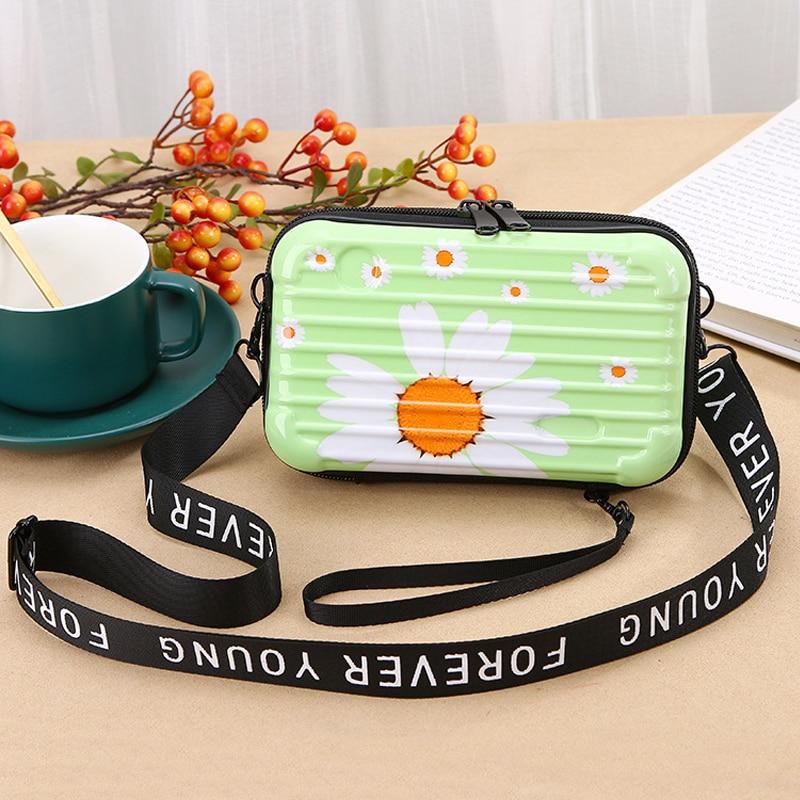 Fashion Daisy Small Bag Phone Box Korean Style Crossbody Bag Luxury Handbags Women Bags Designer Shoulder Bag Mini Messenger Bag