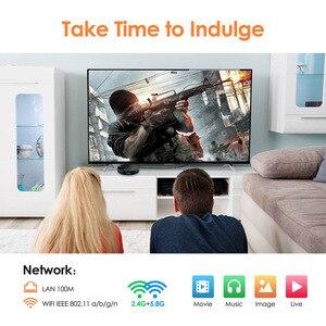 Image 5 - Decodificador de TV HK1 Max, Android 9 9,0, RK3318, dispositivo de TV inteligente, 4GB de RAM, 64GB/128GB, H.265, BT4.0, compatible con Play Store, Youtube, 4K