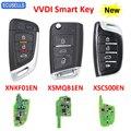 Универсальный мини-пульт дистанционного управления XHORSE VVDI2/VVDI, смарт-ключ с функцией приближения XNKF01EN XSMQB1EN XSCS00EN, английская версия