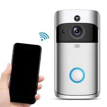 цены Video Doorbell Smart Wireless WiFi Security Door Bell Intercom Phone Picture Video Home Security Receiver Smart WiFi Doorbell
