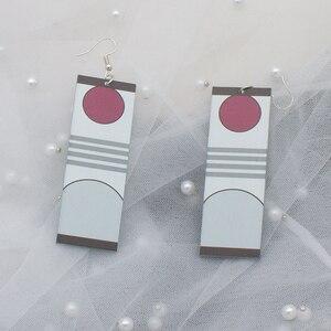 Акриловые серьги-сережки Zaomen Tanjiro с лезвием из аниме-призрака