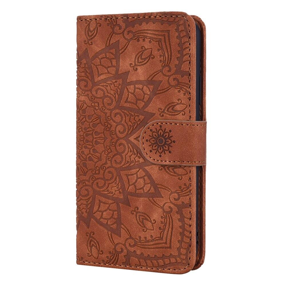 H6b939c5b8aef4654bb42408e62351e08t Matte Leather Phone Case For Samsung Galaxy A50 A70 A30 A40 A20 A10 A10E A20E A10S A20S A30S A50S Flip 3D Mandala Book Case