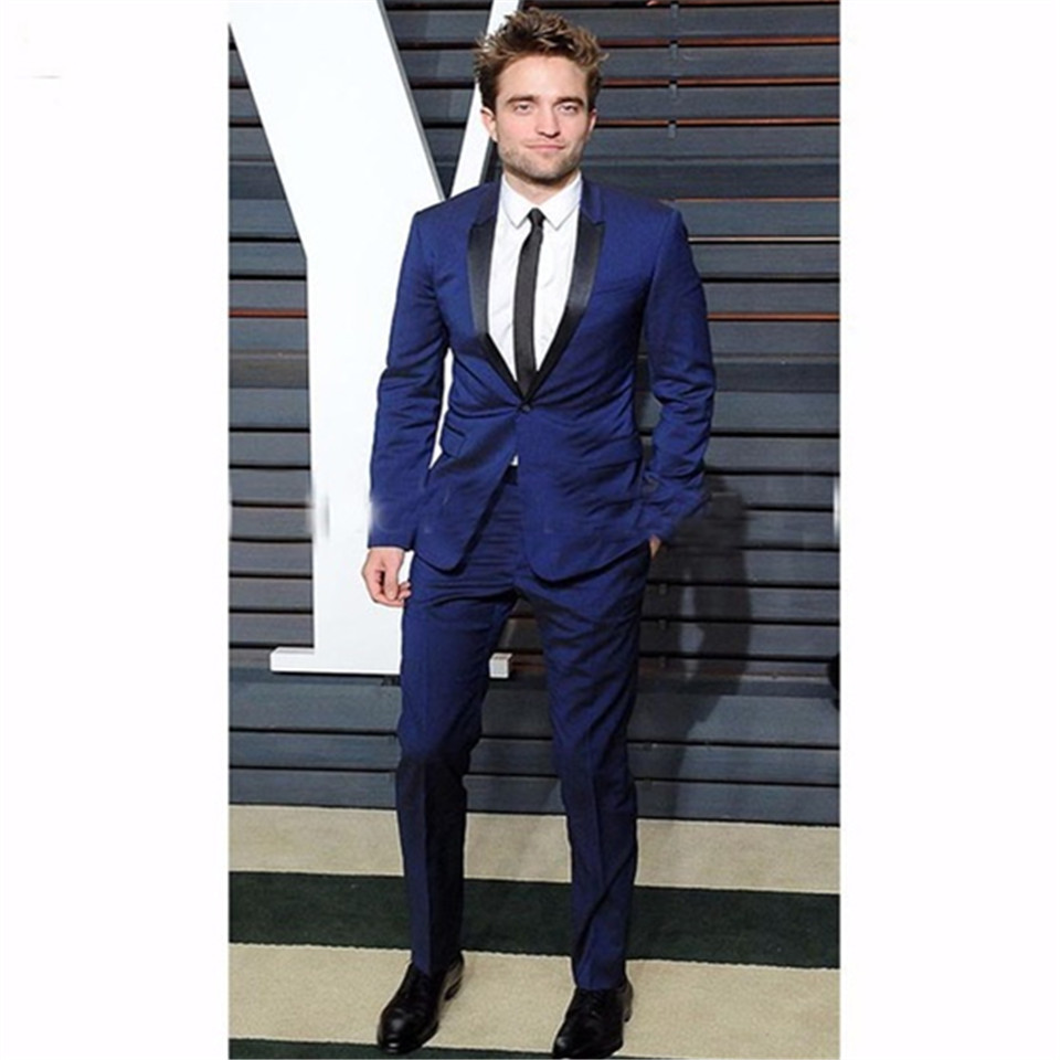 New Men's Suit Smolking Noivo Terno Slim Fit Easculino Evening Suits For Men Shawl Lapel Tuxedos Blazers Morning Party (jacket+p