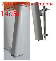 2.4G outdoor AP sector antenna high gain14dBi 120 degree wifi outdoor signal panel antenna