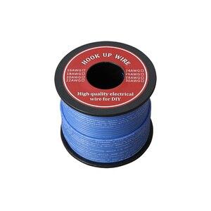 Image 4 - 60m רך סיליקון מבודד UL3132 22 AWG חוט חשמל משומר תקועה חוט למערכת 300V 6 צבעים עבור DIY צעצועי מנורה