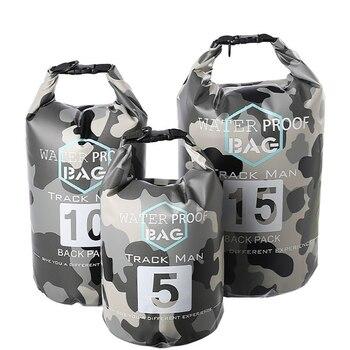 10L Waterproof Bag Storage Dry Sack Bag For Outdoor Canoe Kayak Rafting Sport Swimming Bags Travel Backpack River Trekking bag