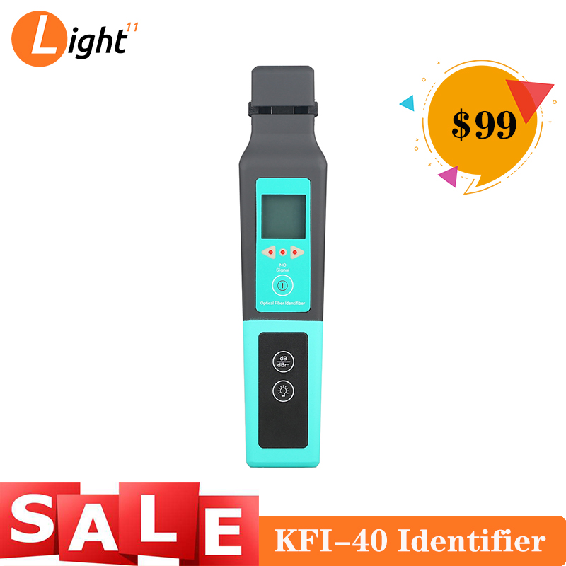 KFI-40 Live Fiber Optical Identifier With LED Display Identifying Direction Break Checker FTTH Testing Tool
