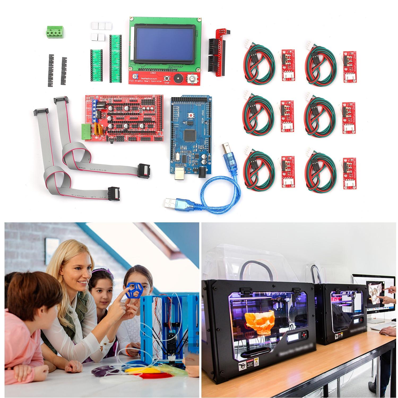 Kit controlador de impressora cnc 3d com