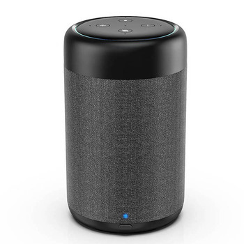 GGMM Portable Mini AUX Speaker 15W HiFi Column With 5200mAh Battery Base For Echo Dot 3nd Black Dock Station With 360° Sound 37H