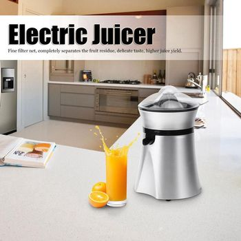 цена на Electric Juicer Citrus Orange Lemon Squeezer Extractor Fruit Press Juice Machine EU 220V Household Fruit Juicer Kitchen Gadgets