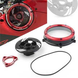 Clear Motorcycle Clutch Cover Protector Guard for Ducati Panigale 1199 1299 959 R S 2012-2020