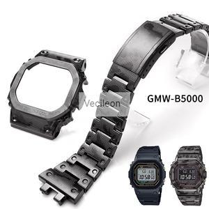 Steel Bracelet Titanium-Alloy GMW-B5000 Watchbands Metal-Strap Sliver with Tools Camo
