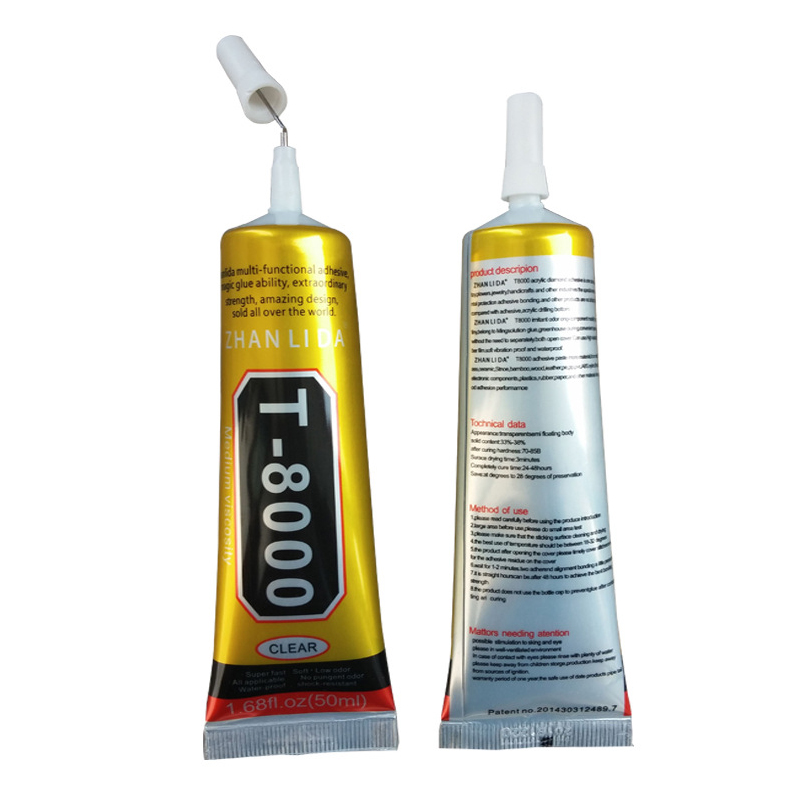 T8000 Repair Liquid Glue 1 Pcs 15ml Multi Purpose Glue For Touchscreen Phone Frame Epoxy Adhesive MDD88