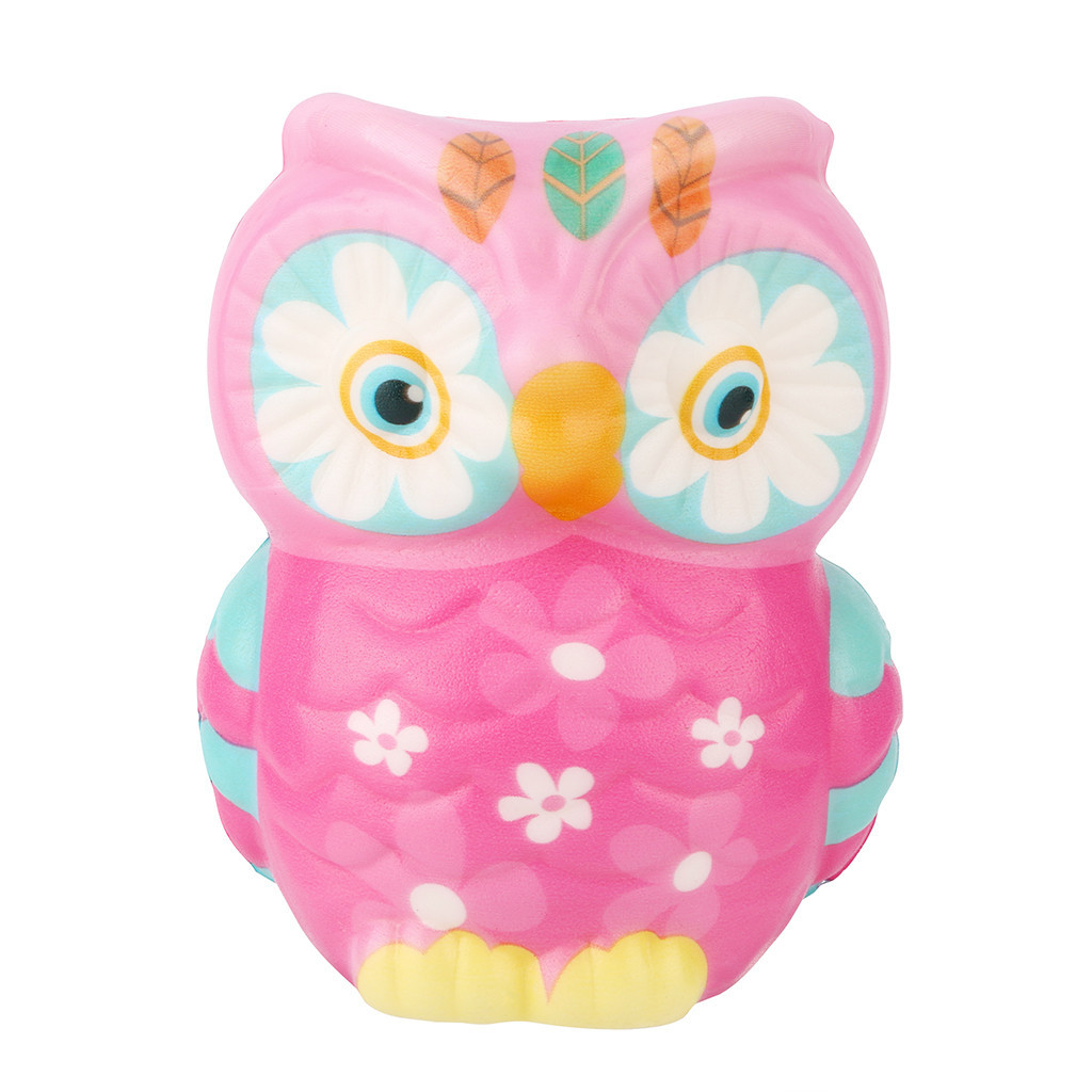 Mini Adorable Slow Rising Fun Stress Reliever Toy Creative Animal Doll Soft Squeeze Toy Antistress Kids Toys #A