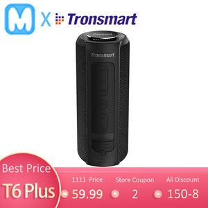 Tronsmart Bluetooth Speaker Deep-Bass-Soundbar Soundpulse TWS Waterproof T6-Plus Colums
