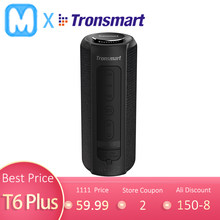 Tronsmart T6 Plus Bluetooth Speaker 40W Portable Speaker Colums Deep Bass Soundbar dengan IPX6 Tahan Air, Tws, untuk Siri, Soundpulse(China)