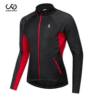 WOSAWE Men's Winter Thermal Windproof Cycling Jacket MTB Bike Bicycle Windbreaker Water repellent Sports Clothing