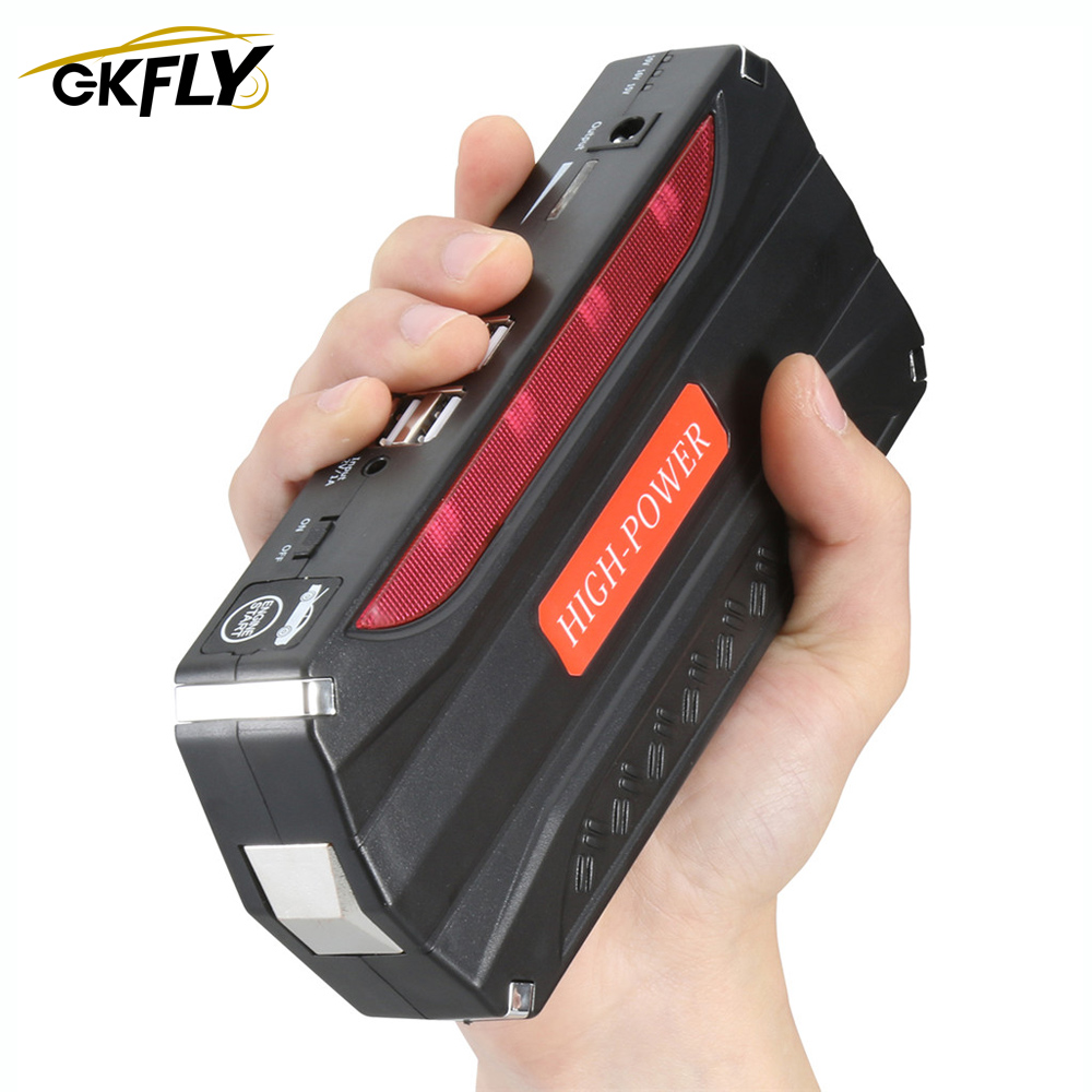 GKFLY Emergency Car Jump Starter Power Bank 600A 12V Portable Starting Device Booster Diesel Car Charger For Car Battery Buster