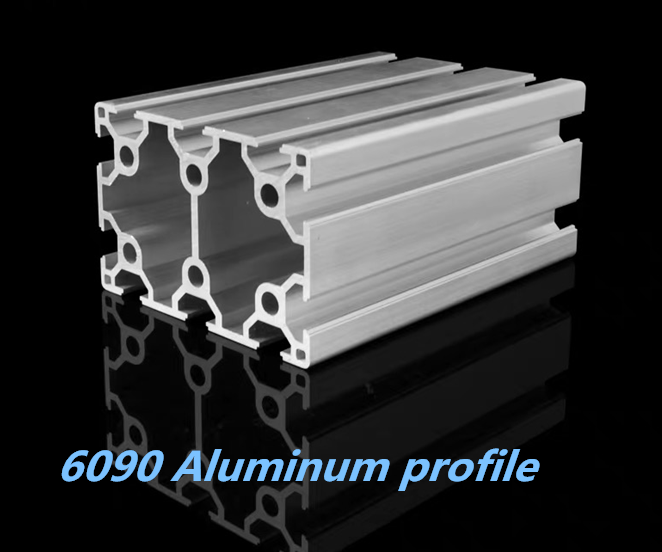 Double-groove Industrial Aluminum Alloy Profiles 6090 Assembly Line Frame Automatic Equipment Aluminum Extrusion Profile 6090