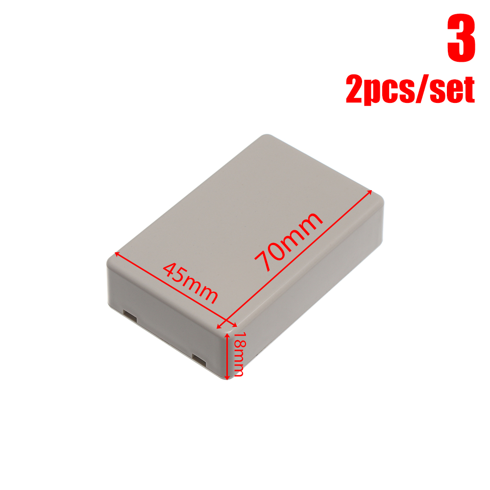 70*45*18mm DIY Waterproof Box White Electronic Case Junction Box Plastic Case