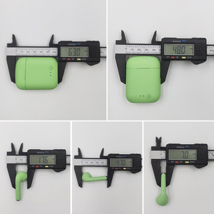 Image 5 - M & J TWS kolorowe bezprzewodowe małe wkładki douszne z Bluetooth słuchawki bezprzewodowe stereo przenośne matowe Macaron sport Bluetooth 5.0 słuchawki