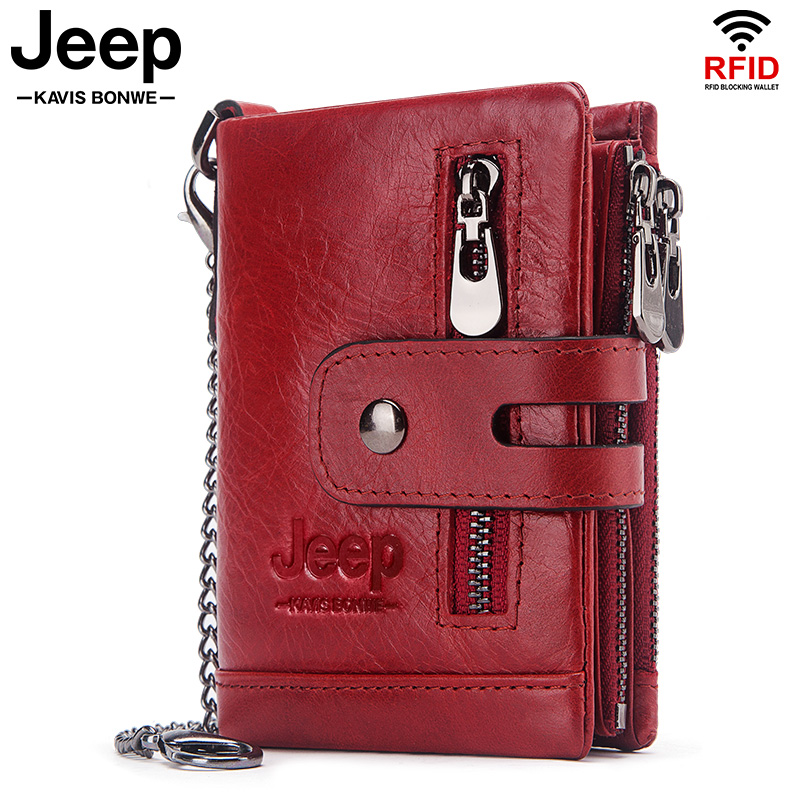 New Fashion Women Wallet Genuine Leather Lady Wallets Female Hasp Double Zipper Design Coin Purse ID Card Holder Short Wallet