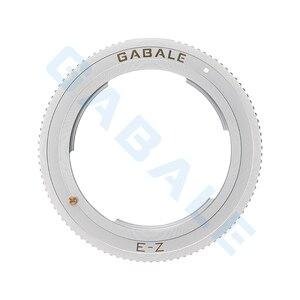 Image 2 - Крепление объектива переходное кольцо для Sony FE E руководство MF линзы и Nikon Z7 Z6 Z50 Z корпус камеры NEX Z