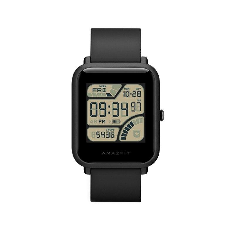 Huami Xiaomi AMAZFIT Smartwatch con Corning Gorilla Glass Schermo Impermeabile Heart Rate Monitor di Dormire Geomagnetici Sensore GPS D20 - 5
