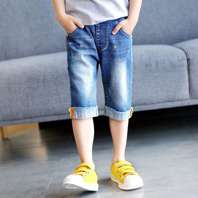 Boys Fashion Denim Shorts