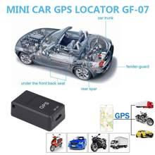 Mini kleine AUTO GPS Tracker Lange Standby-Magnetische Tracking Gerät Für Fahrzeug Kind Person Lage Locator System GF 07