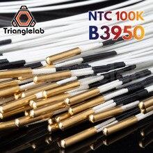 Trianglelab ntc 100k ohm b3950 sensor de cartucho termistor alta temperatura 280 ℃ para e3d pt100 v6 bloco aquecedor impressora 3d