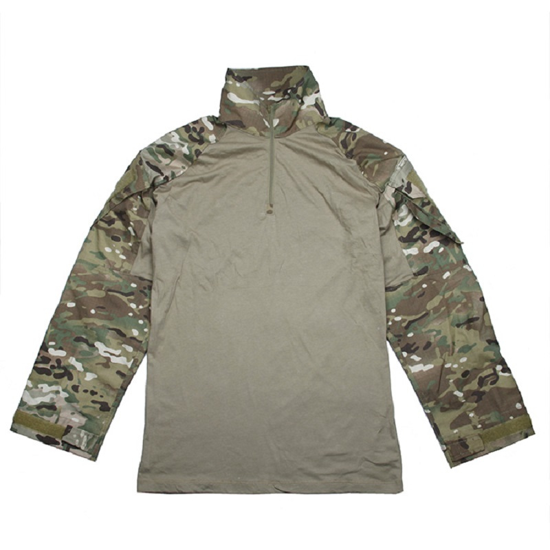 TMC-2899 Tactical Training Military Long Sleeve T-Shirt Combat Pullover For Men