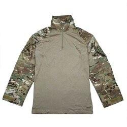 TMC-2899 Tactische Training Militaire Lange Mouwen T-Shirt Combat Trui voor Mannen