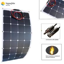 New100w 200w elastyczny panel słoneczny ETFE lub PET18V dla 12V ładowarka panel solarny monokrystaliczny panel zestaw do organizacji domu tanie tanio EPSOLAR 100 32-100 1050MM*540MM*2 5MM BPS 32-100 Monocrystalline Silicon 100W A Grade solar Cell solar panel 100w or sunpower flexible solar panel