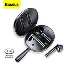 Baseus W05 TWS bezprzewodowe słuchawki Bluetooth 5.0 słuchawki Ture bezprzewodowe słuchawki douszne HD słuchawki Stereo zestaw głośnomówiący słuchawki do Xiaomi