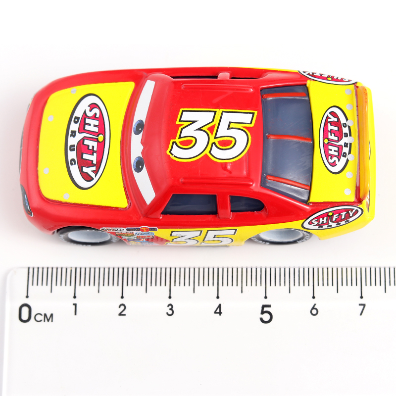 Disney Pixar Racing 2 Racing 3 95 Lightning McQueen Family Jackson Storm, Ramirez Metal Alloy Boy Christmas Children's Toy Gifts