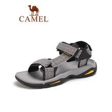 CAMEL Outdoor Casual Soft Shoes Men Sandals waterproof Non-slip Hiking Beach Garden Lightweight Breathable