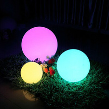 Waterproof Led Lights Garden Ball Lamp Holiday Gift Festival Holiday Bar Party Decoration Lighting Room Decoration cheap Chailueye CN(Origin) 1 Year Christmas Plastic None LED Bulbs Wedge 10inch 1-5m Yellow 20-50 head String Lights 16 colors